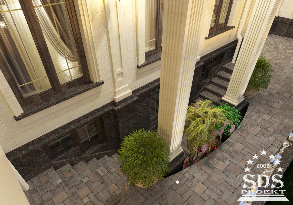 Проект двухэтажного дома с полным вторым этажом