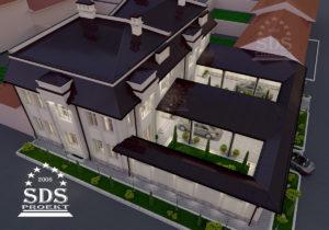 Большой дом для близнецов