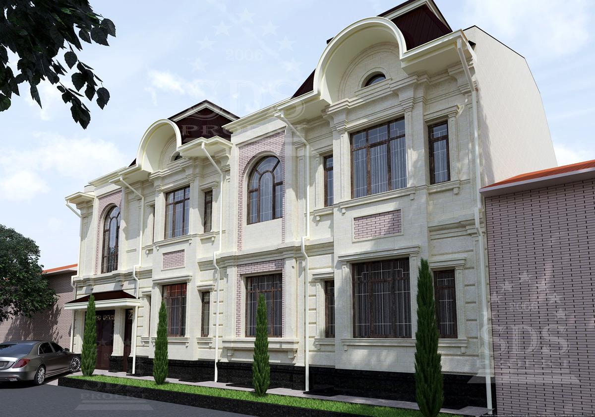 Двухэтажный частный дом в Сергели