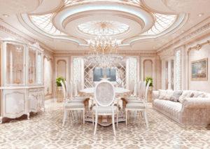 Шикарный дизайн интерьера дома